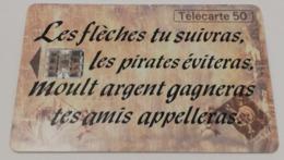 Télécarte - L'Ile Au Trésor - Jeux
