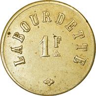 Monnaie, France, Labourdette, Atelier Incertain, 1 Franc, TTB+, Maillechort - Monétaires / De Nécessité