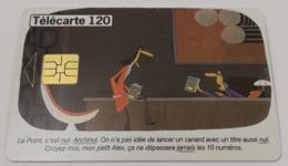 Télécarte - Le Point - 25 Ans - Publicité
