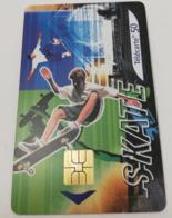 Télécarte - Collection Street Culture - N°2- Le Skate - Sport