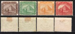 EGITTO - 1888 - SFINGE - VALORI IN MILLESIMI - MH - Égypte