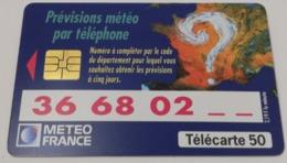 Télécarte - Météo France - Publicité