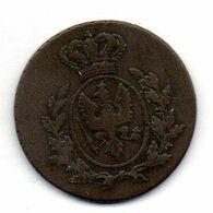 GERMAN STATES - EAST PRUSSIA (POLAND), 1 Groschen, Copper, Year 1811, KM #C58 - [ 1] …-1871 : German States
