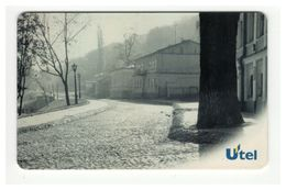 UKRAINE UTEL Phonecard Architecture Kyiv View On Andriyivskyy Descent 50 Units - Ukraine
