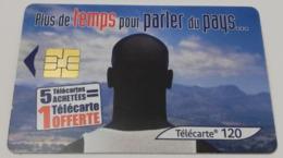 Télécarte - Télécarte - Plus De Temps Pour Parler Du Pays... - Publicité