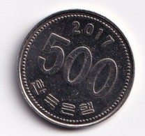 Monnaie De 500 Won 2017 - Korea, South