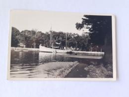 CPA Pont L'abbé, La Rivière, Voilier, Bateau, 1950 - Pont L'Abbe