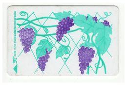UKRAINE - Kyiv - 1997 - Phonecard Telecard Chip Card 840 Units - Grapes - Ukraine