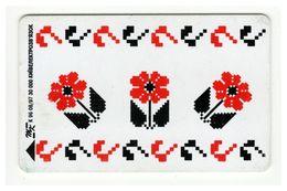 UKRAINE - Kyiv - 1997 - Phonecard Telecard Chip Card 1680 Units - Ornament - Oekraïne