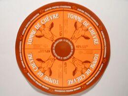 GG012 - Grande étiquette De Fromage - TOMME DE CHEVRE - ULVV COULON Deux-Sèvres Charente-Maritime 17 - Cheese
