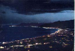 Pietra Ligure - Panorama Notturno - Formato Grande Viaggiata – E 17 - Savona