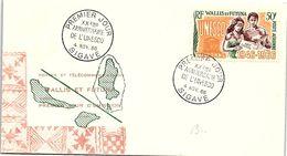 WALLIS ET FUTUNA - XXeme ANNIVERSAIRE UNESCO - CACHET 1er JOUR SIGAVE 4.11.66  / 2 - Covers & Documents