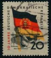 DDR 1959 Nr 725Y Gestempelt X8B8CA2 - [6] República Democrática