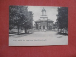 Rotograph State Normal School  Bloomsburg   Pennsylvania  Ref 4294 - United States
