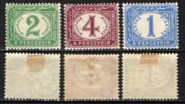 EGITTO - 1889 - Cifra - A Percevoir - MH - Service