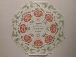 GG013 - Grande étiquette De Fromage - TOMME DE CHEVRE - FABRIQUÉ EN VENDÉE - USVAL GLAC SURGERES Charente-Maritime - Cheese