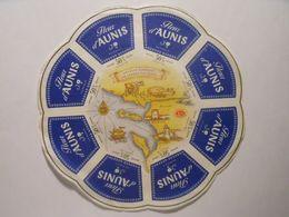 GG015 - Grande étiquette De Fromage - FLEUR D'AUNIS - USVAL SAINT-MICHEL-EN-L'HERM VENDEE 85 - Cheese