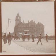 Snapshot North British Hotel Dans Princes Street à Edimbourg Animée Sept. 1902 - Lieux
