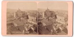Stereo-Foto Fotograf Unbekannt, Ansicht Toledo, Panorama Mit Kirche - Stereoscoop
