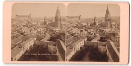 Stereo-Foto Fotograf Unbekannt, Ansicht Toledo, La Cathedrale - Stereoscoop