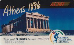 ESTADOS UNIDOS. Olympic Games Athens 1896 / Atlanta 1996. 20000 Ex. (169). - Verenigde Staten