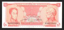 VENEZUELA  5  1989 UNC - Venezuela
