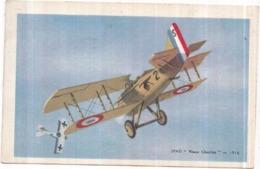 "AVION SPAD ""Vieux Charles"" 1916 - Au Verso Chocolat TOBLER - 1914-1918: 1ste Wereldoorlog"