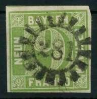 BAYERN MÜHLRADSTEMPEL AUF Nr 5dI GMR 281 ZENTR- X8805C6 - Bavaria