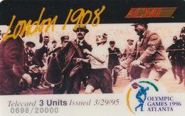 ESTADOS UNIDOS. Olympic Games Atlanta 1996 - ACMI. LONDON 1908. 20000 Ex. (163). - Other
