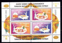 2005 NORTH CYPRUS EUROPA GASTRONOMY SOUVENIR SHEET MNH ** - Europa-CEPT