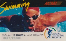 ESTADOS UNIDOS. Olympic Games Atlanta 1996 - ACMI. SWIMMING. 20000 Ex. (170). - Other