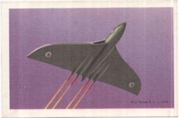 AVION - AVRO VULCAN B 2. 1959  Au Verso Chocolat TOBLER - 1946-....: Ere Moderne