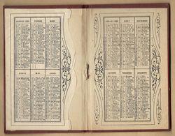 Calendrier 1899 Couverture D'almanach De La Rente Viagère De Paris 15 & 17 Rue Auber 9ème 2scans - Calendari