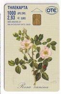TK 26152 GREECE - Chip Flower - Blumen