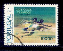 ! ! Portugal - 1984 Olympic Games - Af. 1667 - Used - 1910-... République