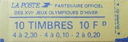 DF40266/2122 - TYPE MARIANNE DE BRIAT - CARNET A COMPOSITION VARIABLE (fermé) - N°1502 TIMBRES NEUFS** - Carnets