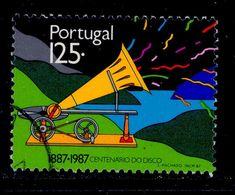 ! ! Portugal - 1987 Vinyl Records - Af. 1819 - Used - 1910-... République