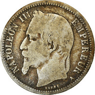 Monnaie, France, Napoleon III, Napoléon III, Franc, 1868, Paris, B+, Argent - France