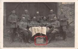 CARTE PHOTO ALLEMANDE ASFELD  Pâques 1915 - Sedan