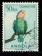 ! ! Angola - 1951 Birds 50 Ag - Af. 349 - Used - Angola