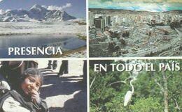 BOLIVIA. Presencia En Todo El Pais. 1998-12-31. BO-ENTEL-024A. (013). NUEVA MINT - Bolivië