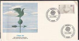 Deutsche Bundespost - 1986 - FDC - Cachets Spéciaux - Contrôle De La Pollution De L'air - A1RR2 - Protección Del Medio Ambiente Y Del Clima