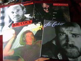 JOE  COCKER   COLLECTION  DE   8 /  33 TOURS  + 1 MAXIS  DIFFERENTS - Volledige Verzamelingen