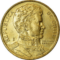 Monnaie, Chile, Peso, 1988, TTB, Aluminum-Bronze, KM:216.2 - Chili