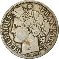 Monnaie, France, Cérès, 2 Francs, 1870, Paris, TB, Argent, Gadoury:530 - France
