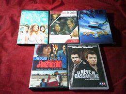 PROMO  DVD   REF  38 °° LE LOT DES 5 DVD  POUR  20  EUROS °°° - DVDs