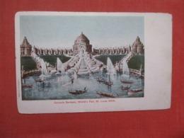 1904 St Louis Worlds Fair  Cascade Gardens  Exposition   >  Ref 4295 - Exhibitions
