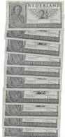 002) OLANDA 2 1/2 GULDEN 1943 EURO 6,60 CADAUNA - [7] Collezioni