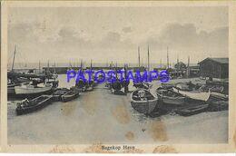 140449 DENMARK DANMARK BAGNKOP HAVN VIEW SHIP SPOTTED POSTAL POSTCARD - Dänemark