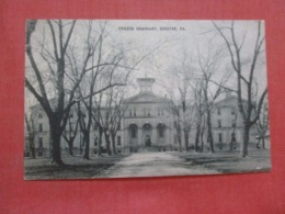 Crozer Seminary  Chester    Pennsylvania >          Ref 4296 - United States